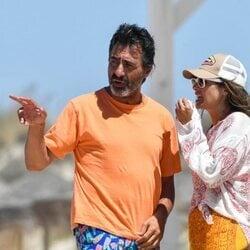 Nuria Roca y Juan del val de vacaciones en Cádiz