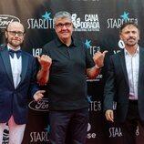 Santiago Segura, Flo Fernández y José Mota en la Gala Starlite 2021