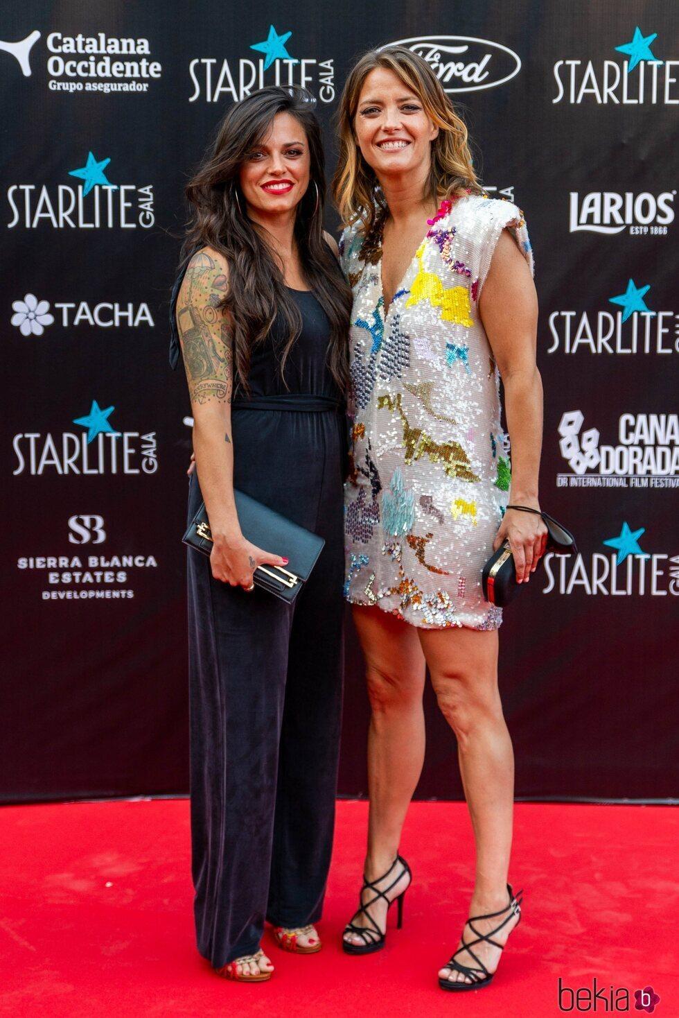 María Casado y su novia Martina en la Gala Starlite 2021
