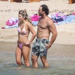 Anita Matamoros y Nacho Santandreu en Ibiza