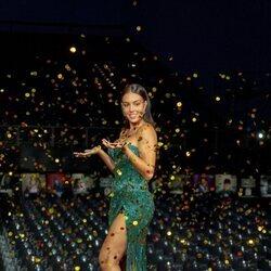 Georgina Rodríguez, muy feliz en la Gala Starlite 2021