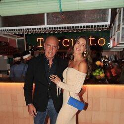 Kiko Matamoros y Marta López Álamo en el cumpleaños de Terelu Campos