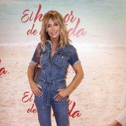 Emma García en el estreno de la obra de teatro 'El humor de mi vida'