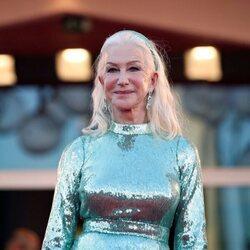 Helen Mirren en la premiere de 'Madres paralelas' en el Festival de Venecia 2021