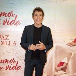 Manel Fuentes en el estreno de la obra de teatro 'El humor de mi vida'