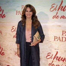 Fabiola Martínez en el estreno de la obra de teatro 'El humor de mi vida'