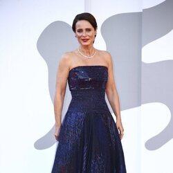 Aitana Sánchez-Gijón en la premiere de 'Madres paralelas' en el Festival de Venecia 2021