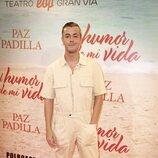 Víctor Palmero en el estreno de la obra de teatro 'El humor de mi vida'