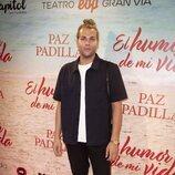 Eduardo Navarrete en el estreno de la obra de teatro 'El humor de mi vida'