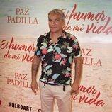 Gustavo González en el estreno de la obra de teatro 'El humor de mi vida'