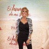 Marisa Martín Blázquez en el estreno de la obra de teatro 'El humor de mi vida'