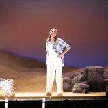 Paz Padilla en el escenario el día del estreno de su obra 'El humor de mi vida'