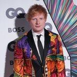 Ed Sheeran en los premios GQ Hombre del Año 2021