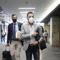 Antonio David Flores llega a los Juzgados por su juicio contra La Fábrica de la Tele