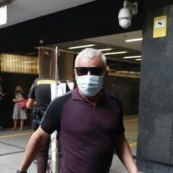 Jorge Javier Vázquez llega a los Juzgados por el juicio de Antonio David Flores contra La Fábrica de la Tele