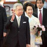 El Príncipe y la Princesa Hitachi de Japón