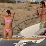 Anita Matamoros y su novio disfrutando de sus vacaciones en Ibiza