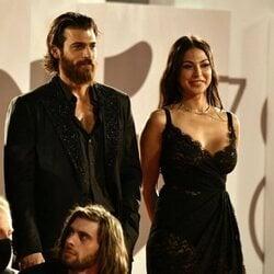 Can Yaman y Moran Atias en el Filming Italy Best Movie Award del Festival de Venecia 2021