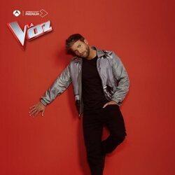 Pablo Alborán en la foto promocional de 'La Voz'
