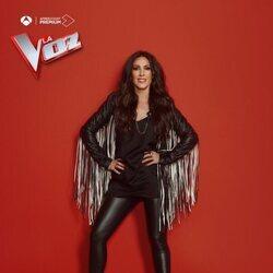 Malú en la foto promocional de 'La Voz'