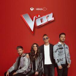 Pablo Alborán, Malú, Alejandro Sanz y Luis Fonsi posan como coaches de 'La Voz'