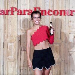 Amaia Romero en la presentación de un anuncio