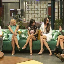 Canales Rivera, Lucía Pariente, Fiama, Cynthia Martínez y Sofía Cristo en la primera gala de 'Secret Story'