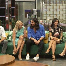 Canales Rivera, Lucía Pariente, Luca Onestini, Fiama y Cynthia Martínez en la primera gala de 'Secret Story'