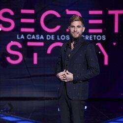 Tom Brusse en la primera gala de 'Secret Story'