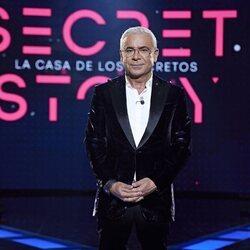 Jorge Javier Vázquez, presentador de las galas de 'Secret Story'