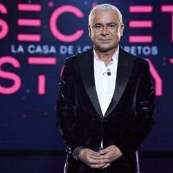 Jorge Javier Vázquez en la primera gala de 'Secret Story'