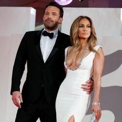 Ben Affleck y Jennifer Lopez en el Festival de Venecia 2021