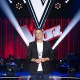Alejandro Sanz en la presentación de 'La Voz'