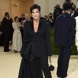 Kris Jenner en la MET Gala 2021