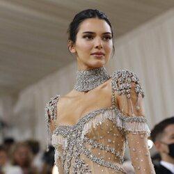 Kendall Jenner a su llegada a la MET Gala 2021