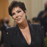 Kris Jenner a su llegada a la MET Gala 2021