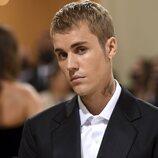Justin Bieber a su llegada a la MET Gala 2021