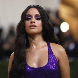 Camila Cabello a su llegada a la MET Gala 2021