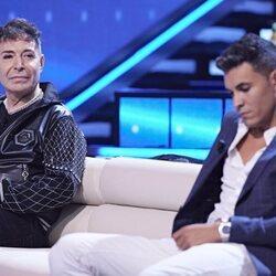 Maestro Joao y Kiko Jiménez durante la primera gala de 'Secret Story: Cuenta atrás'