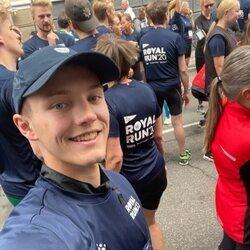 Félix de Dinamarca en la Royal Run