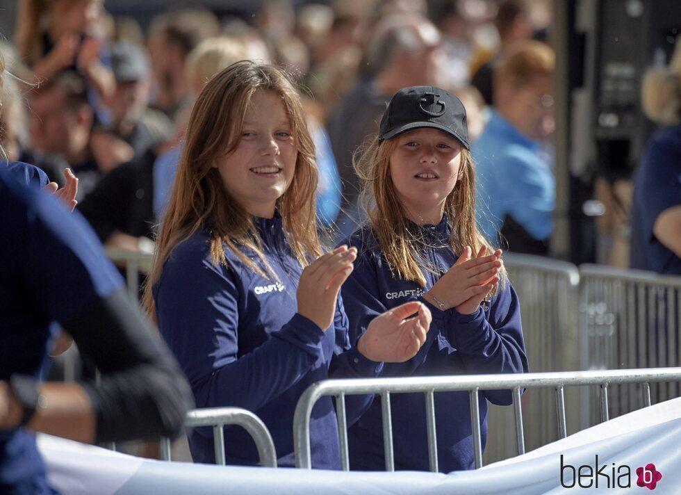 Isabel de Dinamarca y Josefina de Dinamarca en la Royal Run
