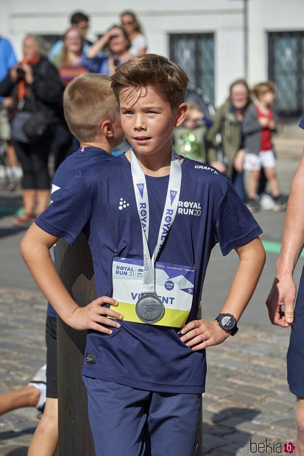 Vicente de Dinamarca en la Royal Run