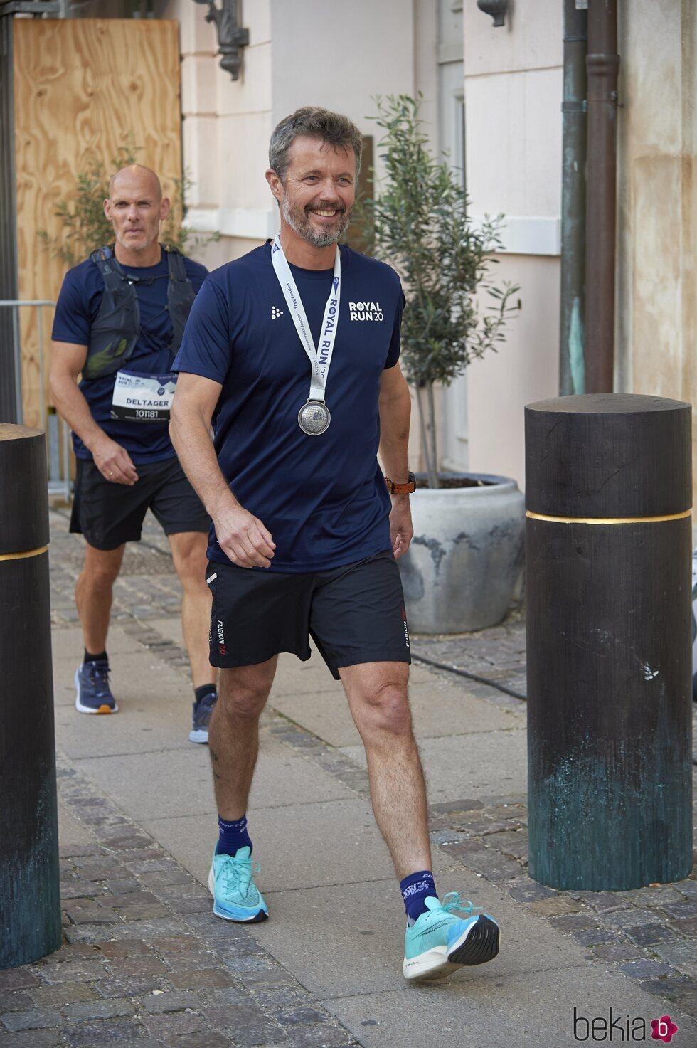 Federico de Dinamarca en la Royal Run