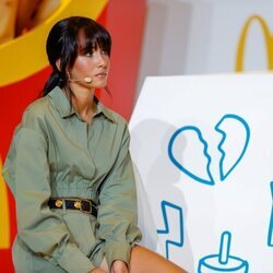 Aitana Ocaña, en la presentación de su colaboración con McDonald's