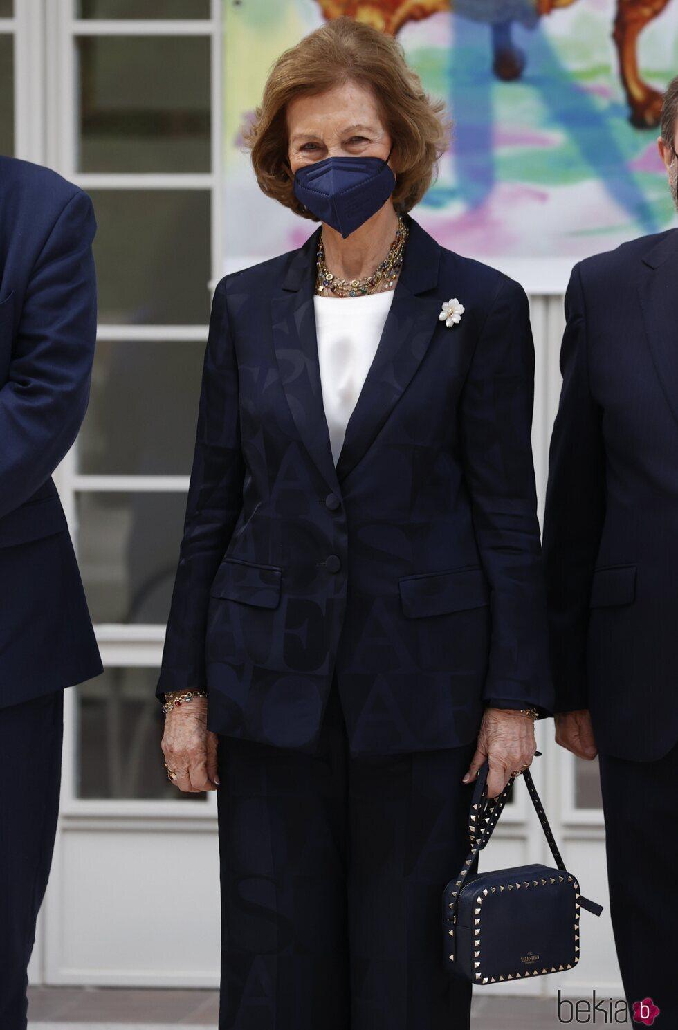 La Reina Sofía en la entrega del Premio Reina Sofía de Pintura y Escultura