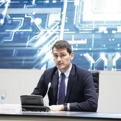 Iker Casillas presenta la III Liga Nacional de retos en el Ciberespacio de La Liga y la Guardia Civil