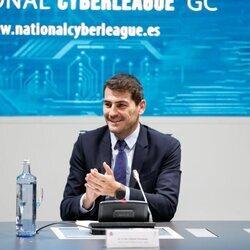 Iker Casillas apadrina la III Liga Nacional de retos en el Ciberespacio de La Liga y la Guardia Civil