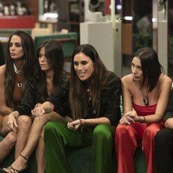 Isabel Rábago enfadada durante la segunda gala de 'Secret Story'