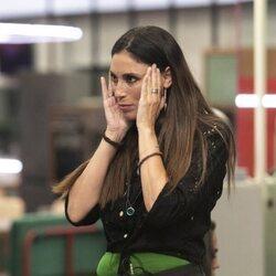 Isabel Rábago durante la segunda gala de 'Secret Story'