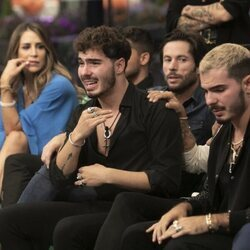 Jesús Oviedo (Gemeliers) llorando durante la segunda gala de 'Secret Story'